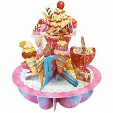 Santoro 3D Pirouette Greeting Card - Ice-Cream Sundaes