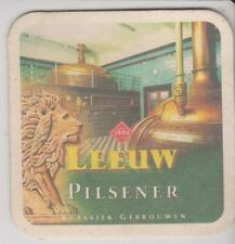 Bierdeckel / Beercoaster / Bierviltje Leeuw Pilsener Klassiek Gebrouwen
