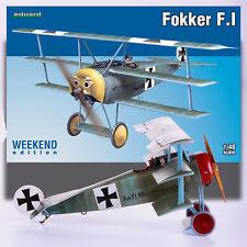 EDUARD 1/48 FOKKER F.1 WEEKEND EDITION KIT 8493