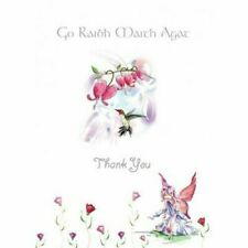 Thank You Card Fairy & Humming Bird