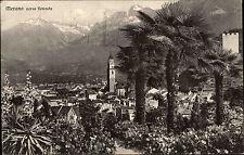 Italien Cartolina 1937 Merano Bolzano MERAN BOZEN Südtirol Italy Postcard
