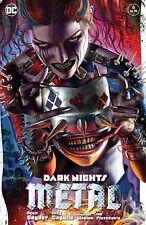 DARK NIGHTS METAL 6 COMICXPOSURE GREG HORN BATMAN HARLEY WHO LAUGHS A VARIANT