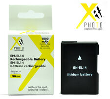 Battery for Nikon D5300 D5200 D5100 D3300 D3200 D3100 Df / EN-EL14a