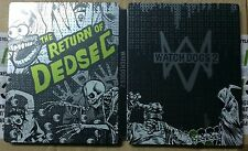 WATCH DOGS 2 NEW STEELBOOK PS4 PC XBOX G2 STEELBOX METAL CASE SEALED