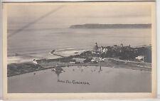 RPPC - Hotel del Coronado and Pacific Ocean - Panoramic View - CA - early 1900s