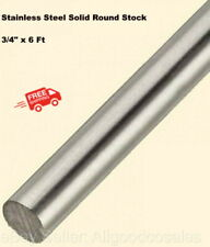Stainless Steel Solid Round Stock 34 X 6 Ft 304 Unpolished Rod 72 Length