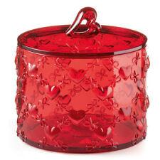 Contenitore Grande con Coperchio Guzzini 11530065 Love Trasparente Cuore Rosso