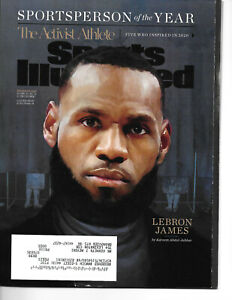 Lebron James L.A. Lakers Sports Illustrated Sportsperson of the Year 12/2020 MT