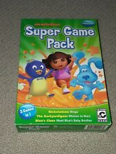 Nickelodeon Super Game Pack Preschool 3 Games In 1  PC CD Backyardigans Bingo