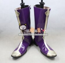 Code Geass zero Lelouch of the Rebellion pureple ver 3 Cosplay Boots Shoes