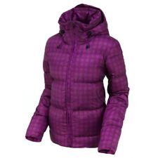 Womens Nike Down Filled Purple Jacket Coat Hooded Ladies Size L Large UK 16-18