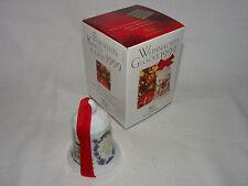 Hutschenreuther Weihnachtsglocke 1999 + Originalkarton - Ole Winter    #3106