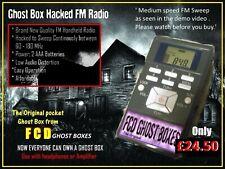 Genuine FCD Ghost Box FM Radio Sweep Spirit hacked Radio The Original