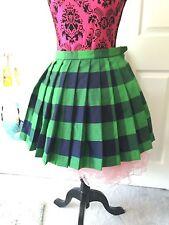 Bodyline Japan Neptune Sailor Moon Green Plaid Uniform Skirt Cosplay