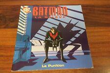 BATMAN  LA RELEVE - LA PUNITION        -- LIVRE  DC / HACHETTE JEUNESSE