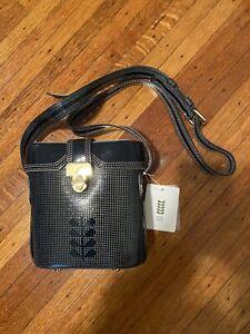 Orla Kiely NWT Blue Patent Leather Crossbody Bag