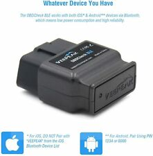 Veepeak OBDCheck BLE+ Bluetooth 4.0 OBD2 Scanner Code Reader for iOS & Android