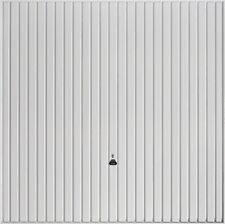 garador Carlton canopy Garage Door white up and over steel new Vertical Hormann