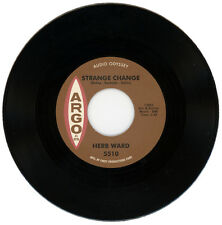"HERB WARD  ""STRANGE CHANGE c/w WHY DO YOU WANT TO LEAVE ME""  NORTHERN SOUL"