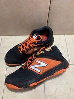 Mens New Balance T3000BK4 Low Turf Baseball Shoes Black Orange Size 9 D