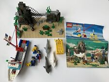 LEGO Divers Set #6558 Shark Cage Cove 100% Complete, Produced in 1997