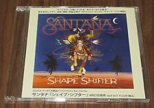 Official SANTANA Japan PROMO ONLY CD acetate SHAPE SHIFTER others listed RARE!