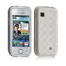 Housse coque Etui pour Samsung Wave 575 Hydrogel Couleur Blanc