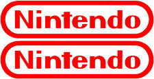 Nintendo Logo Stickers set of 2 vinyl decals Mario zelda, nintendo decal (2)