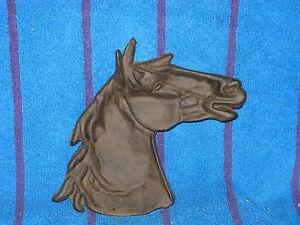 Finished Cast Iron Horse Trinket Holder Change Dish - New