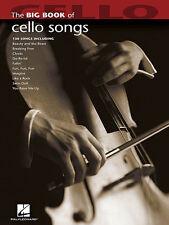 Big Book Of Cello Songs Sheet Music Song Book New