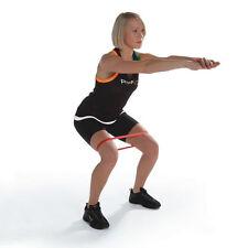 Resistance Band Loop Exercise Medium Pilates Yoga Orange Exercise Stretch Tubing