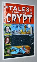 Original EC Comics Tales From The Crypt 28 comic book cover artwork pinup poster