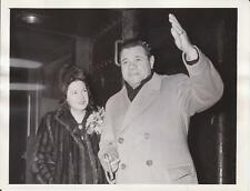"""2/5/42 Babe Ruth """"PRIDE OF THE YANKEES"""" Movie - News Photograph"""