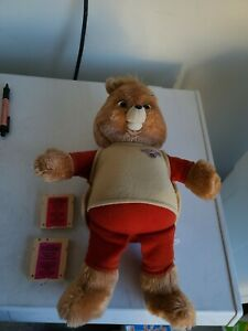 Vintage Teddy Ruxpin Collection 1985