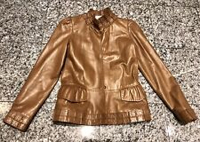 9a11b04ab9f Yves Saint Laurent Brown Leather Coats & Jackets for Women for sale ...