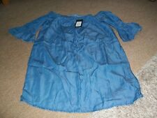 ladies brand new with tags new look denim top