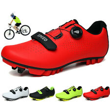 Outdoor Men Mtb Cycling Shoes Mountain Bicycle Sneakers Triathlon Racing Shoes