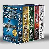 Game of Thrones 5-Copy Boxed Set von George R. R. Martin (2012, Taschenbuch)