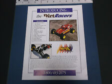 VINTAGE S AND K R/C DIRT RACERS OFFROAD TRUCK #DR1000T CAR #DR1000C LITERATURE