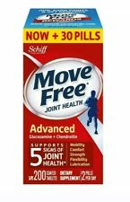 Schiff MoveFree Advancd Triple Strength Glucosamine Chondroitin 200 Tablet 05/21