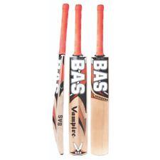 New Branded Bas Top Grade Cricket Bat English Willow Vampire Achiever Cane Sh