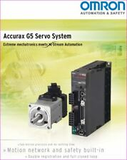 OMRON ACCURAX G5 SERVO SYSTEM DRIVER R88D KT01H New.( MOTOR to suit see add )
