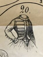 February 1863 SEWING PATTERNS for DOLLS and Ladies (tracings)