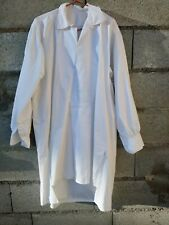 ancienne chemise homme a grand pan , blanche / 148
