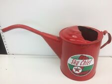 OIL CAN WITH SPOUT AND HANDLE (crest texaco no original)