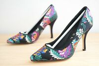 Ravel Embroidered Wilson Satin Stiletto Womens Shoes Size UK 3 / EU 36 (SBO)