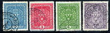 AUSTRIA 1917 Large Arms in lighter colours on ordinary paper, used.