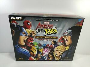 Marvel Avengers Vs X-Men Dicemasters Set Up Box Game Wiz Kids 2014 Complete
