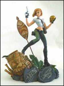 DANGER GIRL:  ABBEY CHASE STATUE lim. SCOTT CAMPBELL Cliffhanger   + sehr sexy +