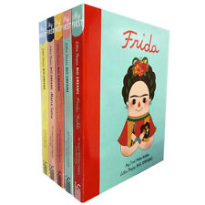 Little People, Big Dreams series 1 Collection 5 Books Pack Set Coco Chanel NEW